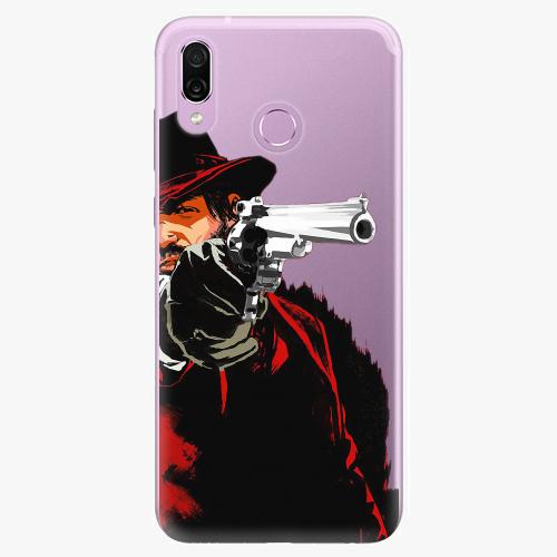 Silikonové pouzdro iSaprio - Red Sheriff na mobil Honor Play