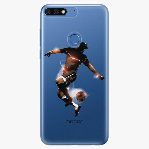 Silikonové pouzdro iSaprio - Fotball 01 na mobil Honor 7C