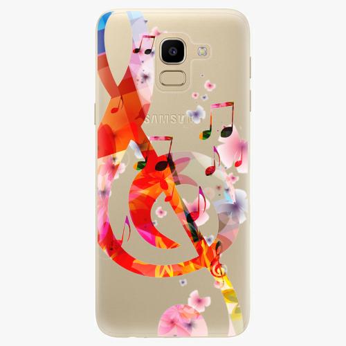 Silikonové pouzdro iSaprio - Music 01 na mobil Samsung Galaxy J6