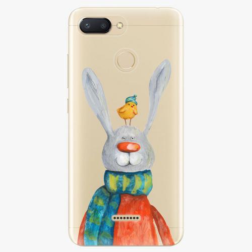 Silikonové pouzdro iSaprio - Rabbit And Bird na mobil Xiaomi Redmi 6