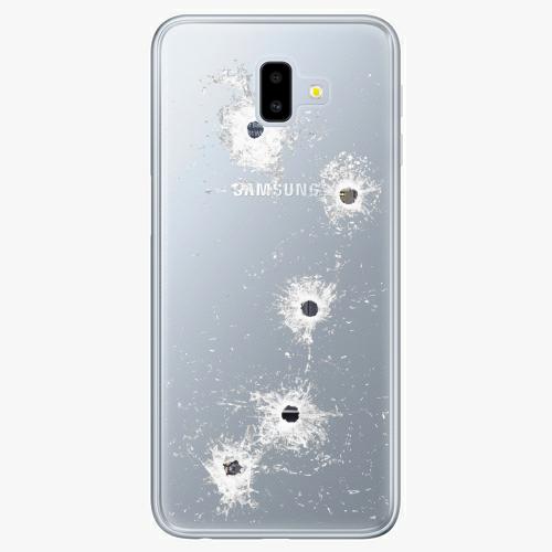 Silikonové pouzdro iSaprio - Gunshots na mobil Samsung Galaxy J6 Plus