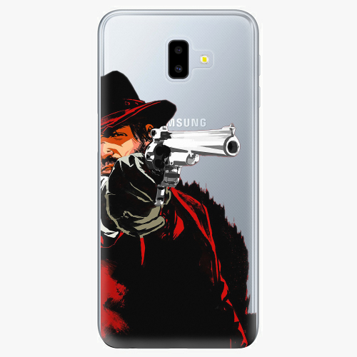 Silikonové pouzdro iSaprio - Red Sheriff na mobil Samsung Galaxy J6 Plus