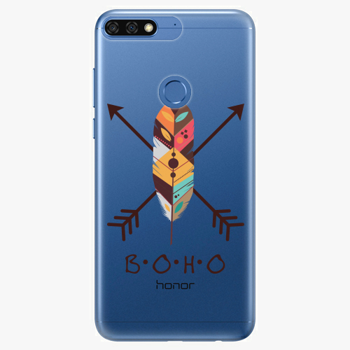 Silikonové pouzdro iSaprio - BOHO na mobil Honor 7C