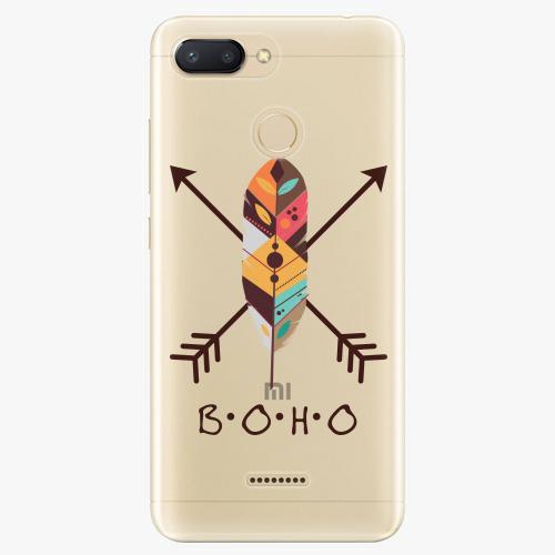 Silikonové pouzdro iSaprio - BOHO na mobil Xiaomi Redmi 6