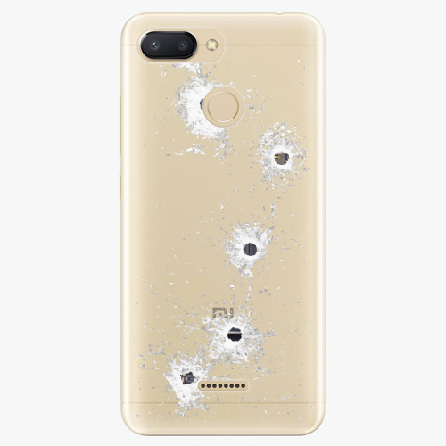 Silikonové pouzdro iSaprio - Gunshots na mobil Xiaomi Redmi 6