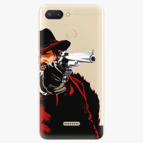 Silikonové pouzdro iSaprio - Red Sheriff na mobil Xiaomi Redmi 6