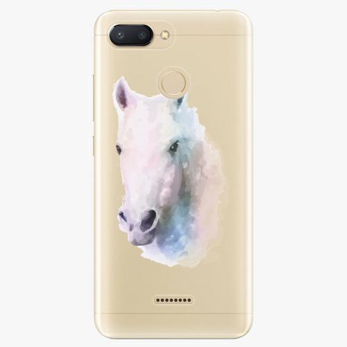 Silikonové pouzdro iSaprio - Horse 01 na mobil Xiaomi Redmi 6
