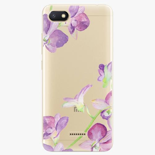 Silikonové pouzdro iSaprio - Purple Orchid na mobil Xiaomi Redmi 6A