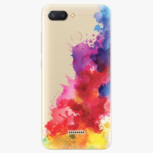Silikonové pouzdro iSaprio - Color Splash 01 na mobil Xiaomi Redmi 6