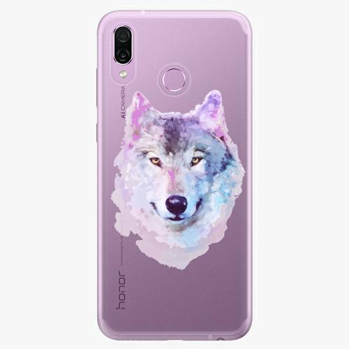 Silikonové pouzdro iSaprio - Wolf 01 na mobil Honor Play