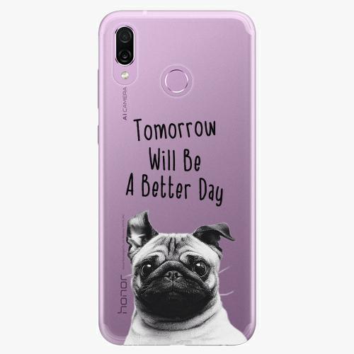 Silikonové pouzdro iSaprio - Better Day 01 na mobil Honor Play