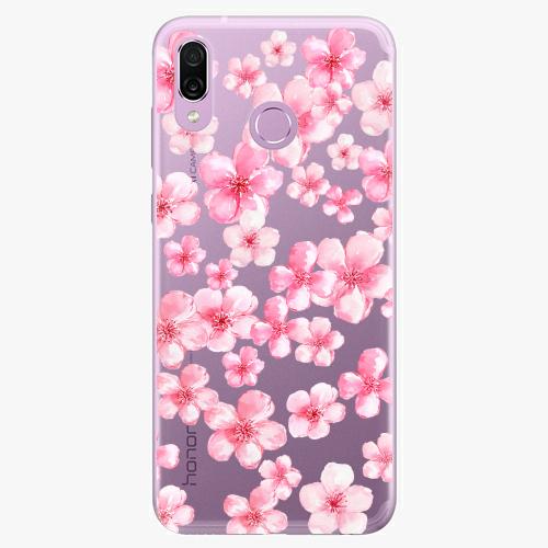 Silikonové pouzdro iSaprio - Flower Pattern 05 na mobil Honor Play