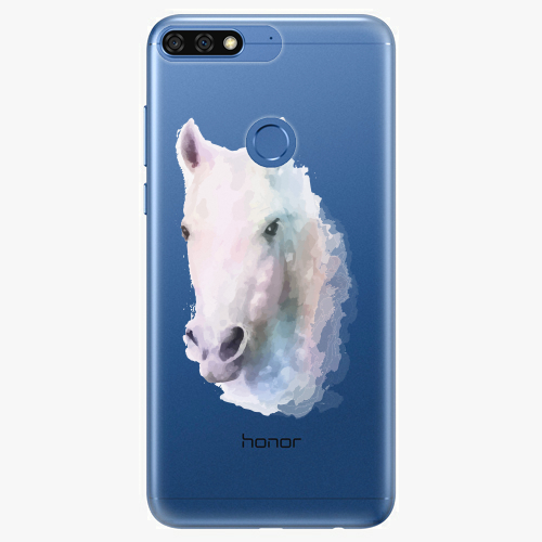 Silikonové pouzdro iSaprio - Horse 01 na mobil Honor 7C