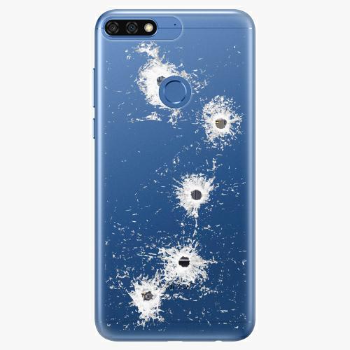 Silikonové pouzdro iSaprio - Gunshots na mobil Honor 7C