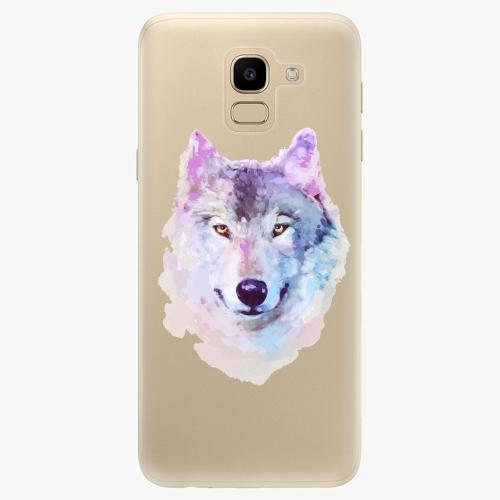 Silikonové pouzdro iSaprio - Wolf 01 na mobil Samsung Galaxy J6