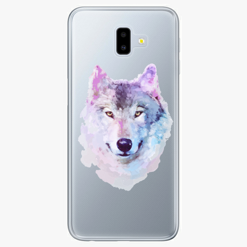Silikonové pouzdro iSaprio - Wolf 01 na mobil Samsung Galaxy J6 Plus