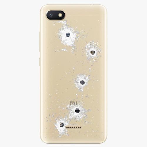 Silikonové pouzdro iSaprio - Gunshots na mobil Xiaomi Redmi 6A