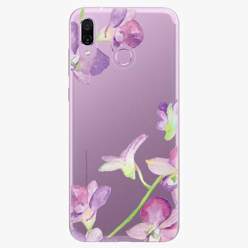 Silikonové pouzdro iSaprio - Purple Orchid na mobil Honor Play