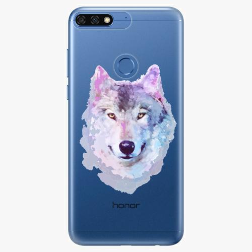 Silikonové pouzdro iSaprio - Wolf 01 na mobil Honor 7C