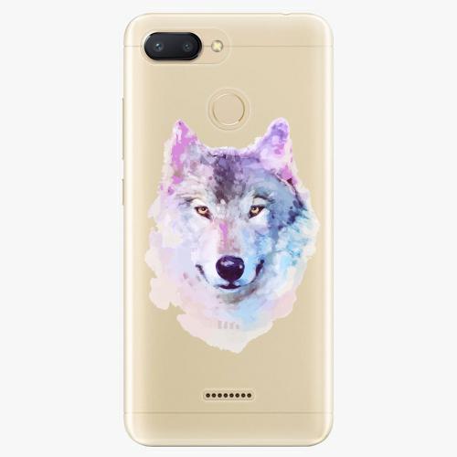 Silikonové pouzdro iSaprio - Wolf 01 na mobil Xiaomi Redmi 6