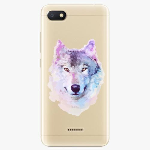Silikonové pouzdro iSaprio - Wolf 01 na mobil Xiaomi Redmi 6A