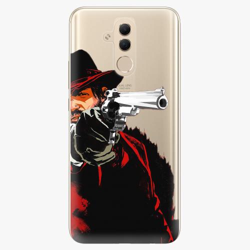 Silikonové pouzdro iSaprio - Red Sheriff na mobil Huawei Mate 20 Lite