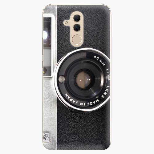 Silikonové pouzdro iSaprio - Vintage Camera 01 na mobil Huawei Mate 20 Lite
