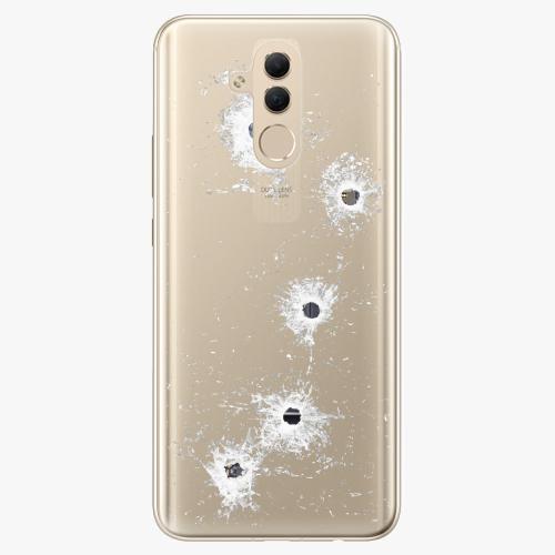 Silikonové pouzdro iSaprio - Gunshots na mobil Huawei Mate 20 Lite