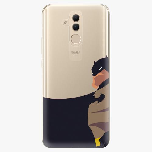 Silikonové pouzdro iSaprio - BaT Comics na mobil Huawei Mate 20 Lite