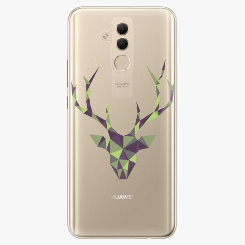 Silikonové pouzdro iSaprio - Deer Green na mobil Huawei Mate 20 Lite