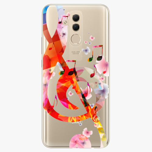 Silikonové pouzdro iSaprio - Music 01 na mobil Huawei Mate 20 Lite