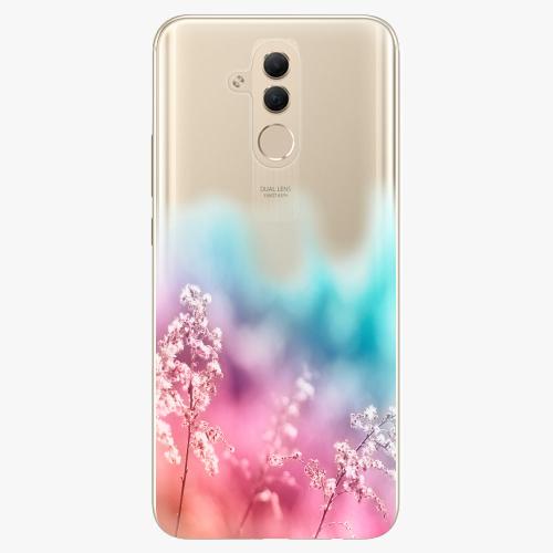 Silikonové pouzdro iSaprio - Rainbow Grass na mobil Huawei Mate 20 Lite