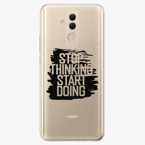Silikonové pouzdro iSaprio - Start Doing black na mobil Huawei Mate 20 Lite