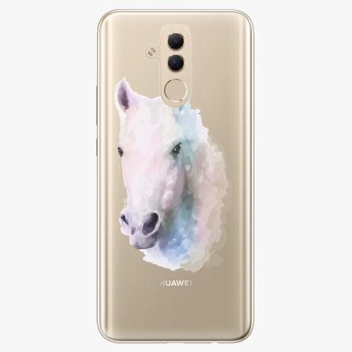 Silikonové pouzdro iSaprio - Horse 01 na mobil Huawei Mate 20 Lite