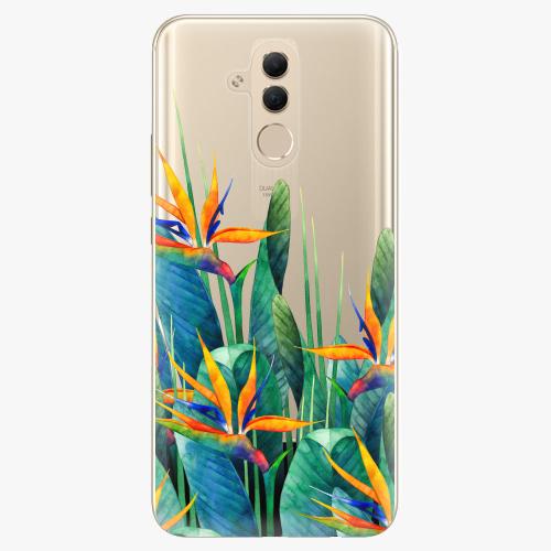 Silikonové pouzdro iSaprio - Exotic Flowers na mobil Huawei Mate 20 Lite