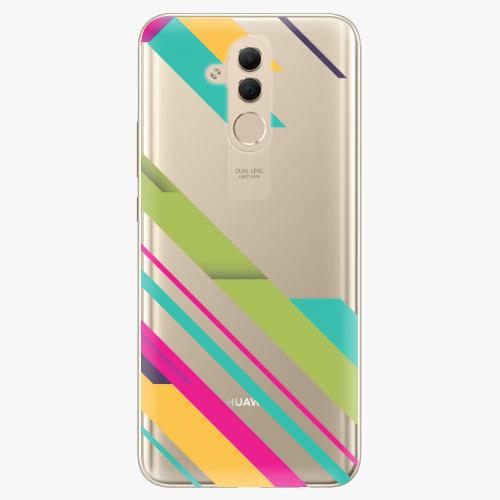 Silikonové pouzdro iSaprio - Color Stripes 03 na mobil Huawei Mate 20 Lite