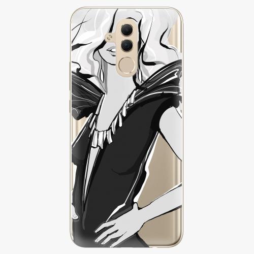 Silikonové pouzdro iSaprio - Fashion 01 na mobil Huawei Mate 20 Lite