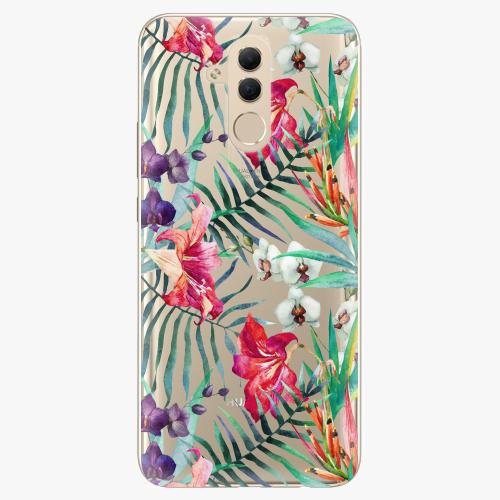 Silikonové pouzdro iSaprio - Flower Pattern 03 na mobil Huawei Mate 20 Lite