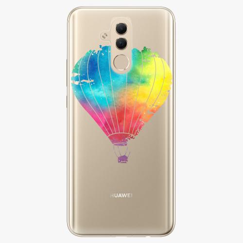 Silikonové pouzdro iSaprio - Flying Baloon 01 na mobil Huawei Mate 20 Lite