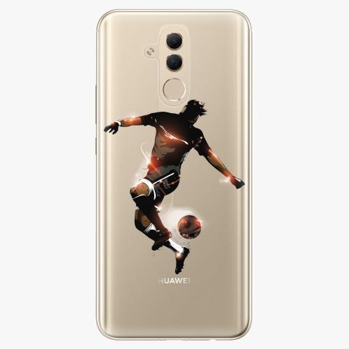 Silikonové pouzdro iSaprio - Fotball 01 na mobil Huawei Mate 20 Lite