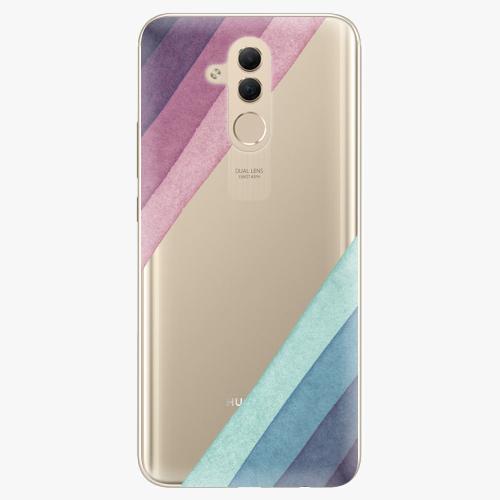 Silikonové pouzdro iSaprio - Glitter Stripes 01 na mobil Huawei Mate 20 Lite