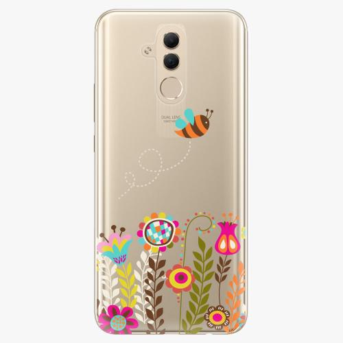 Silikonové pouzdro iSaprio - Bee 01 na mobil Huawei Mate 20 Lite