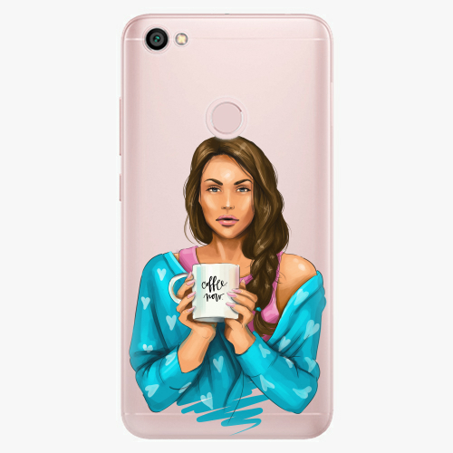 Silikonové pouzdro iSaprio - Coffe Now / Brunette na mobil Xiaomi Redmi Note 5A / 5A Prime