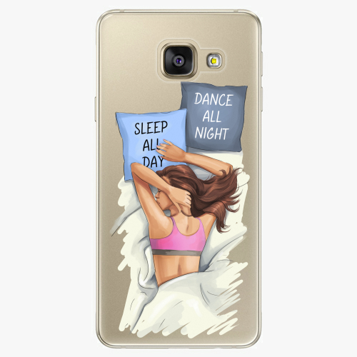 Silikonové pouzdro iSaprio - Dance and Sleep na mobil Samsung Galaxy A5 2016