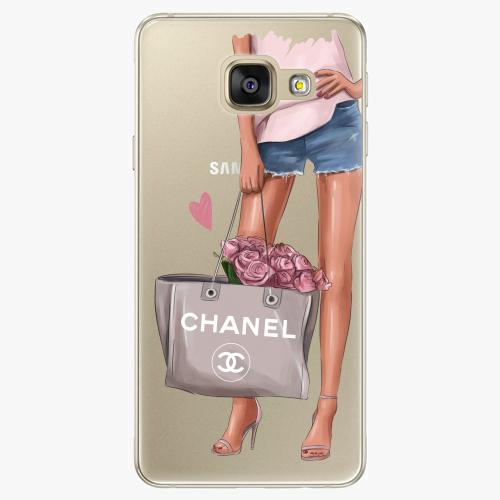 Silikonové pouzdro iSaprio - Fashion Bag na mobil Samsung Galaxy A5 2016
