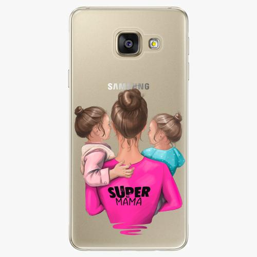 Silikonové pouzdro iSaprio - Super Mama na mobil Two Girls na mobil Samsung Galaxy A5 2016