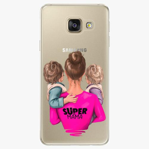 Silikonové pouzdro iSaprio - Super Mama na mobil Two Boys na mobil Samsung Galaxy A5 2016