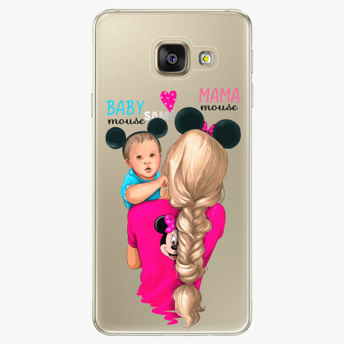 Silikonové pouzdro iSaprio - Mama Mouse Blonde and Boy na mobil Samsung Galaxy A5 2016