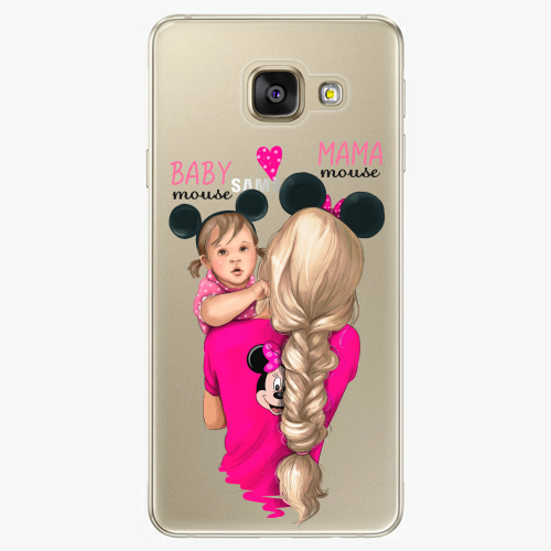 Silikonové pouzdro iSaprio - Mama Mouse Blond and Girl na mobil Samsung Galaxy A5 2016