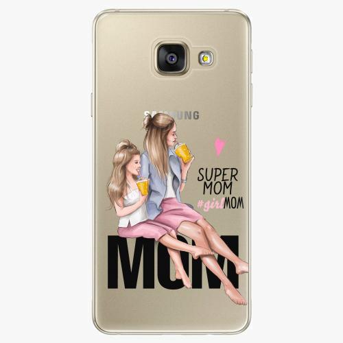 Silikonové pouzdro iSaprio - Milk Shake / Blond na mobil Samsung Galaxy A5 2016